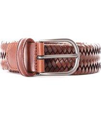 anderson's stretch woven belt | dark brown | af2817-c3