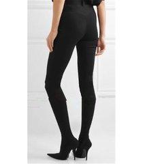 pb211 european trending pants boots  us size 1-13 black