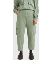 jeans levis soft surplus sea spray verde - calce regular