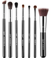 conjunto de pincéis c/7 sigma beauty best of sigma brush set