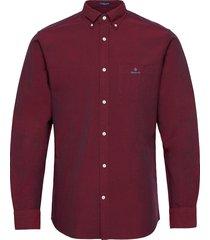 d1.reg beefy oxford bd skjorta casual röd gant