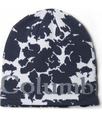 gorro columbia lodge logo azul columbia