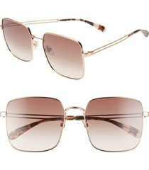 women's givenchy 59mm special fit gradient square sunglasses -