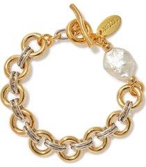 duet chain bracelet