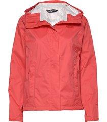 w venture 2 jacket outerwear sport jackets röd the north face