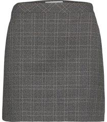charlott kort kjol grå mango