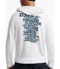 malibu beach graphic hoodie