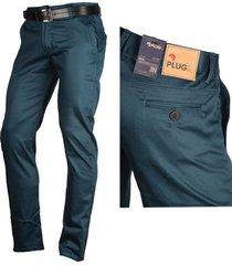 pantalón en drill para hombre montserrat, azul