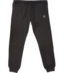 belstaff oakington track pants - black 71100270-blk