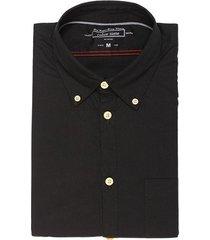 camisa jones para hombre - negro