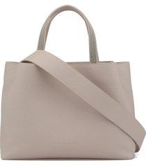 fabiana filippi pebbled leather shoulder bag