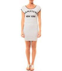 korte jurk vera lucy robe hamptons 1464 bleu