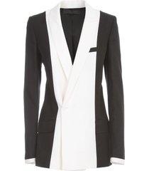 haider ackermann bondi jacket long double breasted
