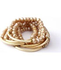 michael gabriel designs champagne bracelets