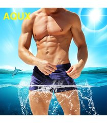 bañador para hombre- shorts de bolsillo con cremallera para hombre