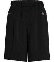 travel crepe short shorts flowy shorts/casual shorts svart calvin klein