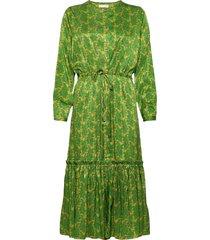anastacia dress knälång klänning grön lollys laundry