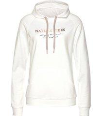 sweater lascana hooded sweatshirt loungewear