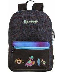 mochila de costas rick and morty