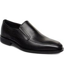 calcan shoes business loafers svart ecco