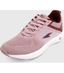tenis lifestyle rosa-vinotinto rs21
