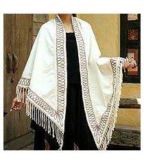 cotton shawl, 'dance' (thailand)