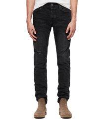 men's allsaints rex slim fit straight leg jeans
