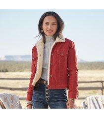 ridge corduroy jacket - petites