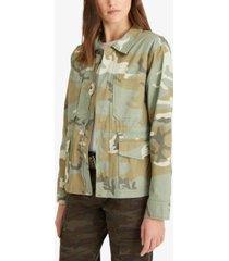 sanctuary morgan camo-print jacket