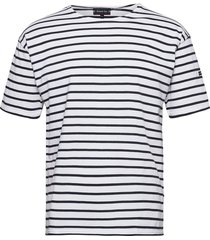 breton striped shirt théviec t-shirts short-sleeved vit armor lux