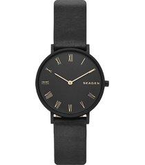 reloj skagen para mujer - slim black  skw2745