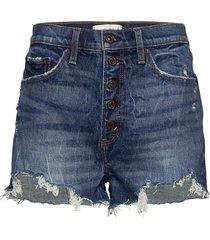 shorts shorts denim shorts blå abercrombie & fitch