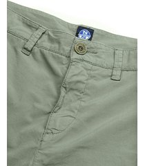 cotton poplin chino shorts