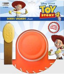 gorro jessie con accesorios toy story disney