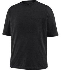 wolverine men's knox short sleeve tee (big & tall) black, size 3x