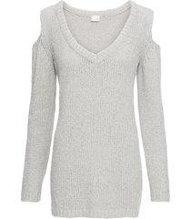 maglione in ciniglia con lurex (grigio) - bodyflirt