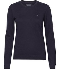 marline sweater gebreide trui blauw lexington clothing