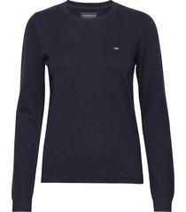 marline sweater gebreide trui blauw lexington clothing
