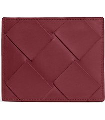 bottega veneta intrecciato leather card case -