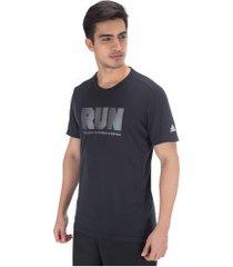 camiseta adidas confident gfx - masculina - azul escuro
