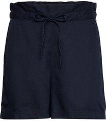 johanna lyocell shorts shorts paper bag shorts blå lexington clothing