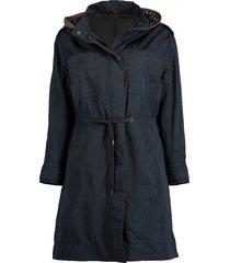 long taffeta jacket