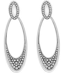 women's lagos 'signature caviar' omega drop earrings