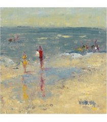 "marilyn wendling impasto beach day i canvas art - 15.5"" x 21"""