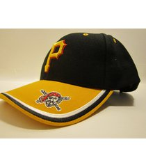 """pittsburgh pirates vintage mlb """"replay"""" wool ball cap (new) by twins enterprise"""