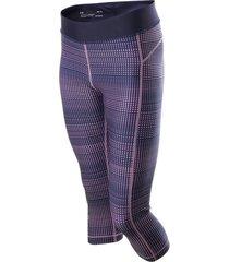 lycra para mujer under armour-negro/rosado