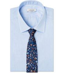 cravatta su misura, lanieri, creative blu, quattro stagioni | lanieri