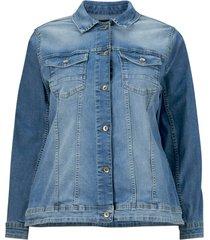 jeansjacka maccalia ls jacket