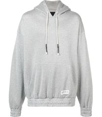 mostly heard rarely seen shine hoodie - silver