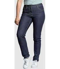 jeans carla angel of style donkerblauw